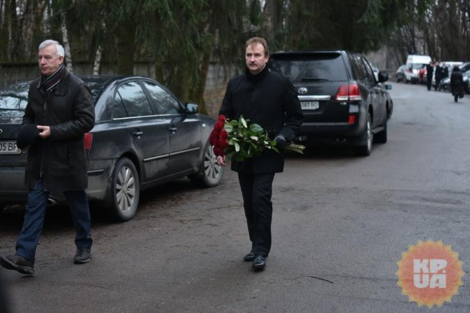 Александр Попов приехал попрощаться с Михаилом Чечетовым.