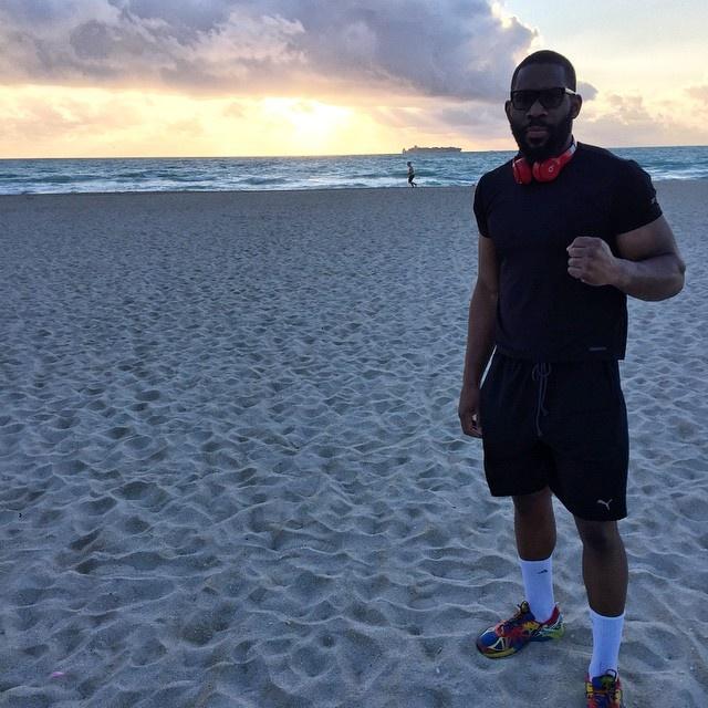 Боксер много времени проводит на свежем воздухе. Фото: Instagram