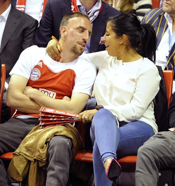 Никто не внакладе: Рибери счастлив в браке... Фото: Eastnews