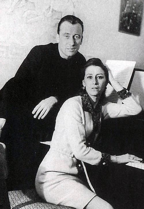 В рабочем кабинете Щедрина. Москва, 1963 г. Фото: из книги
