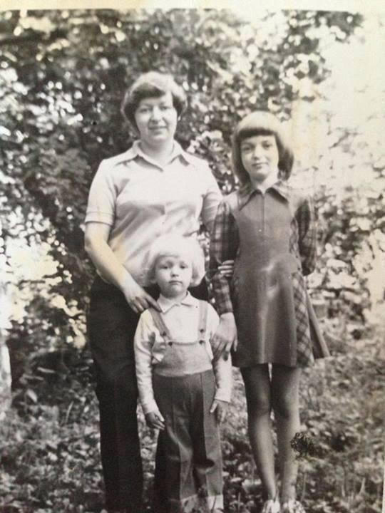 Яценюк в детстве