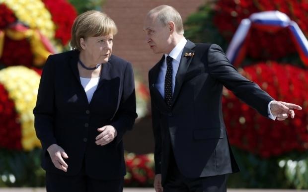 Меркель встретилась с Путиным. Фото: Рейтерс