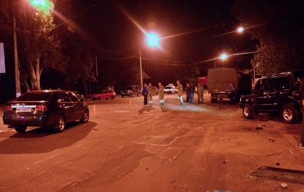 После аварии водителя выбросило из авто. Фото: news.pn