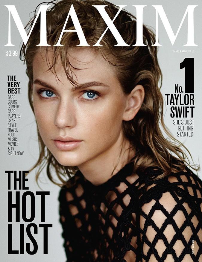 Обложка нового номера журнала Maxim.