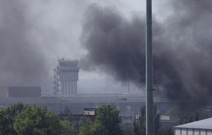 ... силы ВСУ вынуждены были бросить в бой авиацию. Фото: eastnews