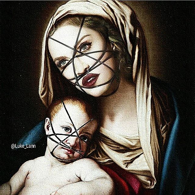 Мадонна в образе Мадонны. Фото: Инстаграм