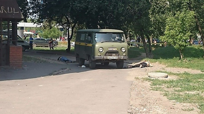 Убиты трое сотрудников почты. Фото: Славы Мавричева