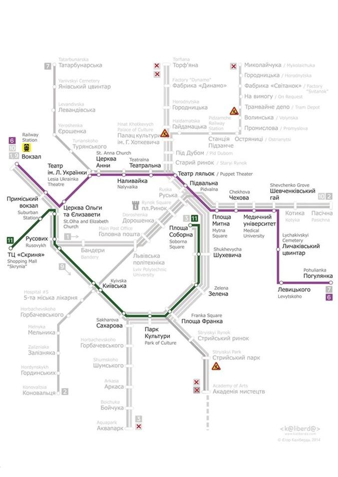 """Схема: ЛКП """"Львовэлектротранс"""""""