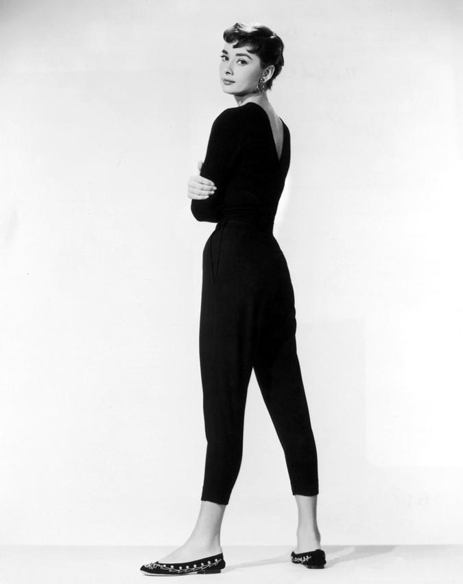 Одри Хепберн.