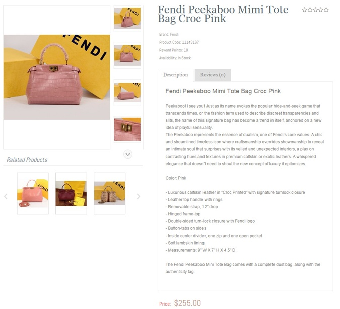 Подделку сумки можно купить в интернете за 5 с половиной тысяч гривен.