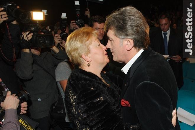 Вера Ульянченко и Виктор Ющенко. Фото: antikor.com.ua
