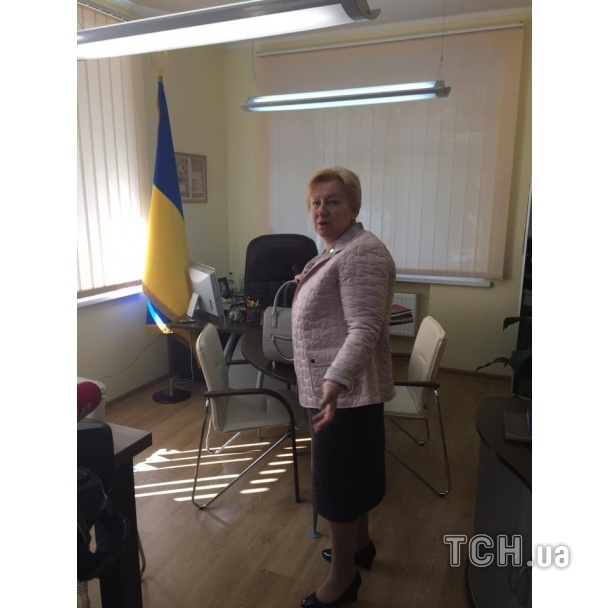 Ульянченко журналисты нашли в ее офисе в Киеве.