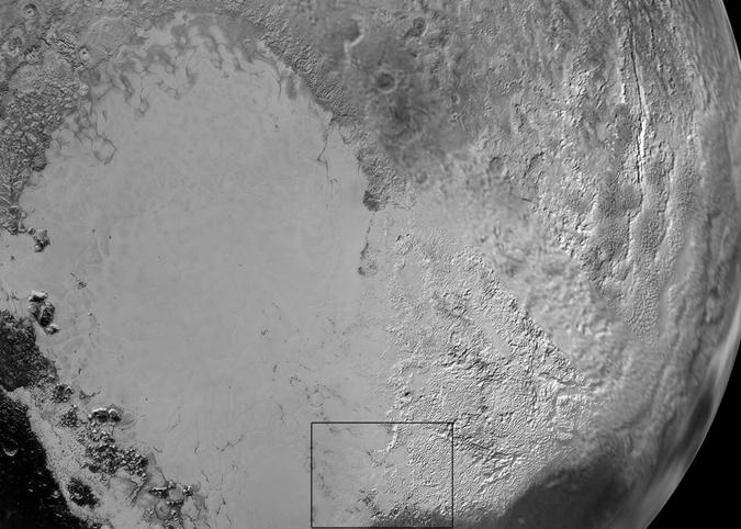 Опубликованы новые снимки Плутона. Фото: NASA