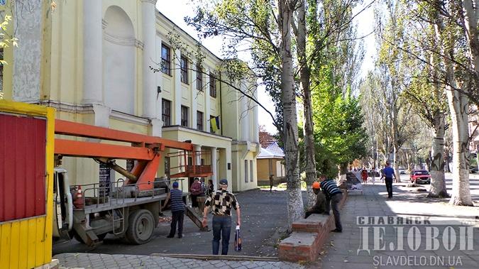 В Славянске