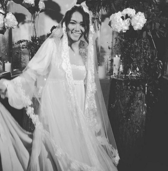 Счастливая невеста. Фото: Инстаграм Лиды Петровой.