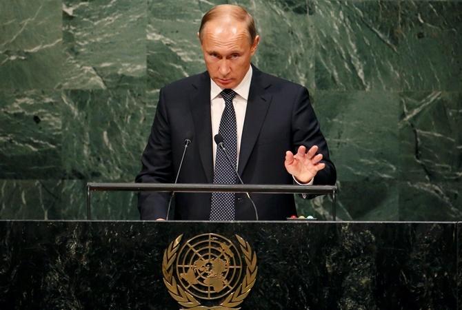 Путин в ООН призвал объединить усилия в борьбе с террористами/