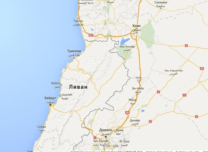 Хомс расположен на границе с Ливаном.