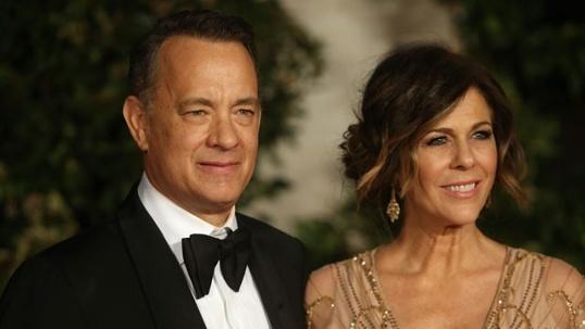 Жена Тома Хэнкса Рита Уилсон перенесла операцию на обеих грудях. Фото: Getty Images