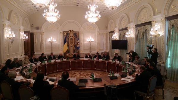 Заседание антикоррупционного совета.