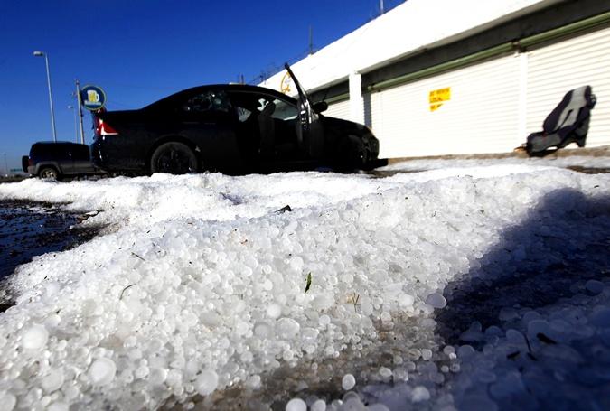 Снег в Мексике выпадает раз в несколько лет.