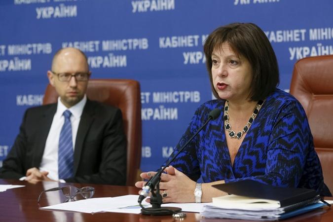 Министр финансов Наталья Яресько. Фото: REUTERS