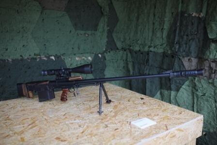 Крупнокалиберная снайперская винтовка.