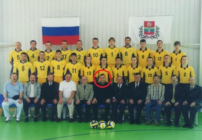 Георгадзе вице-президент местного волейбольного клуба