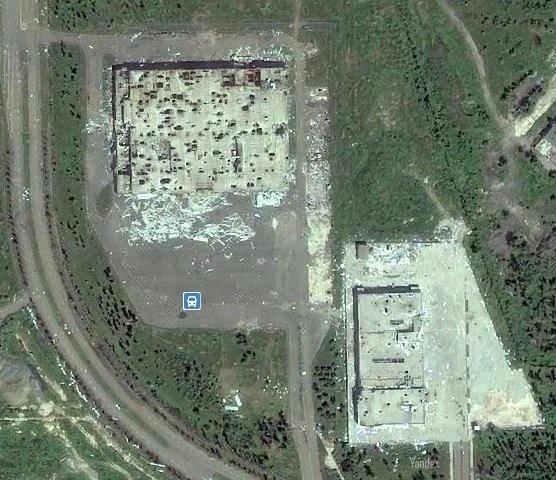 Как выглядит Донецк со спутника: появились фото города после обстрелов фото 1
