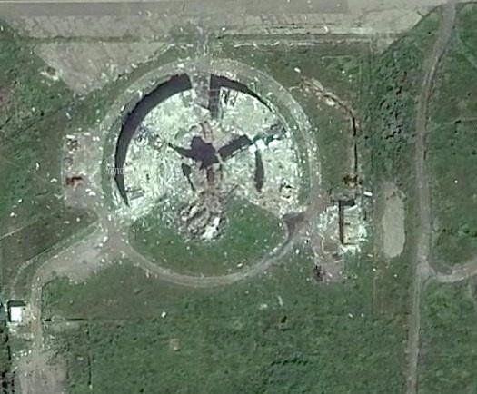 Как выглядит Донецк со спутника: появились фото города после обстрелов фото 2
