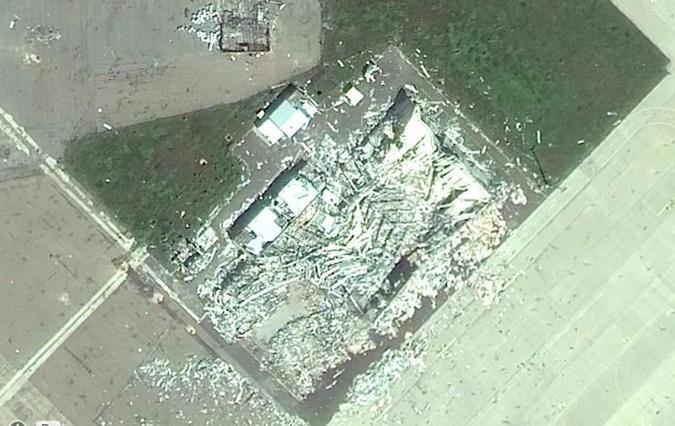 Как выглядит Донецк со спутника: появились фото города после обстрелов фото 4