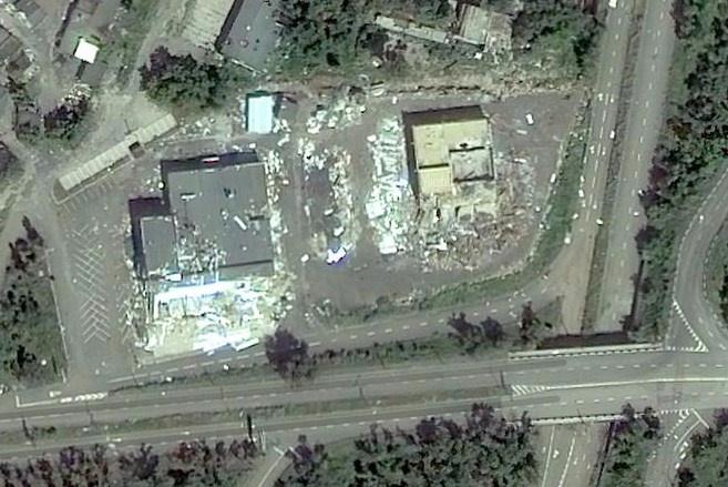 Как выглядит Донецк со спутника: появились фото города после обстрелов фото 6