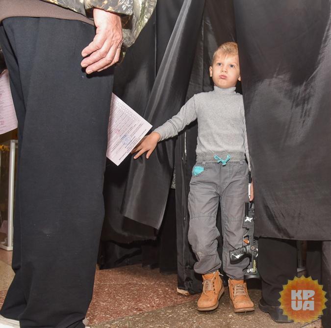Выборы в Одессе. Фото: Максим ВОЙТЕНКО
