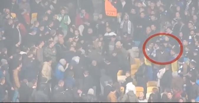 Перед дракой. Фото: скриншот видео