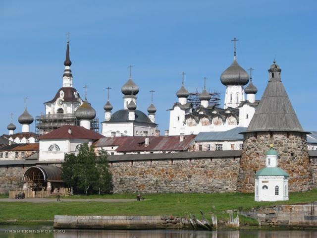 Соловецкий монастырь - место заключения и смерти атамана.