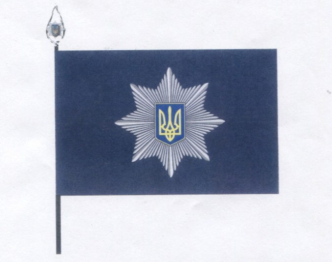 Флаг Нацполиции.
