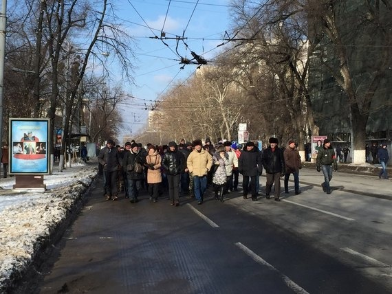 Протесты в Молдове. Фото: соцсети