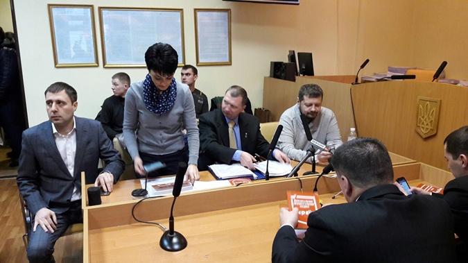 Игорь Мосийчук пришел в суд.