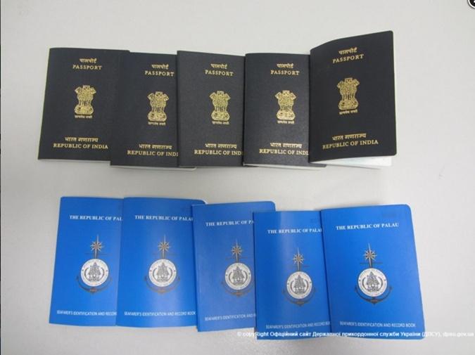 Поддельные паспорта граждан Республики Палау.