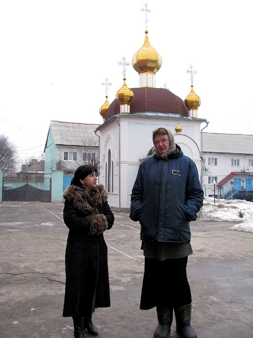 Шило в колонии в Харькове.