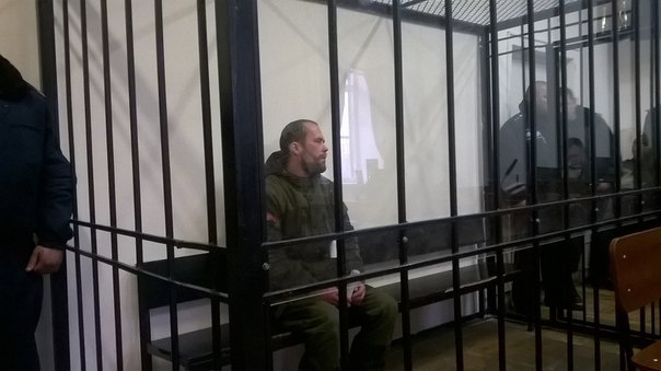 Парфенков в суде.