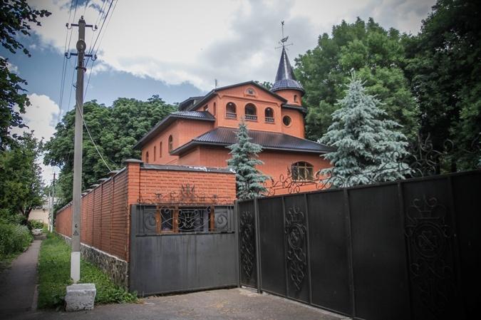 Дом Лозинского - в самом центре Голованевска.