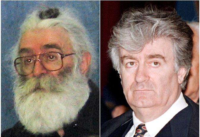 До ареста в 2008 году Караджич жил под Белградом по поддельному паспорту и с густой бородой.