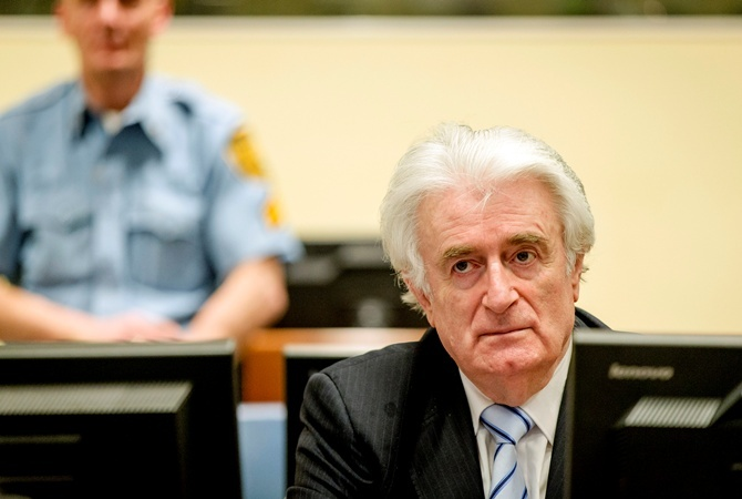 Караджича приговорили к 40 годам.