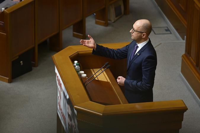 Яценюк поблагодарил союзников и врагов.