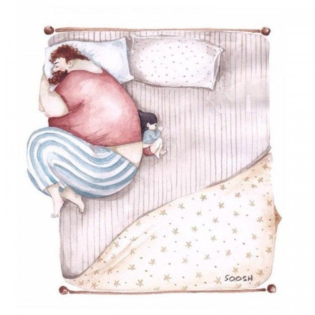 Папа николаевской художницы теплый и уютный