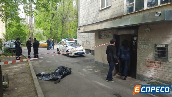 Издома наСоломенке выпал мужчина— милиция подтвердила