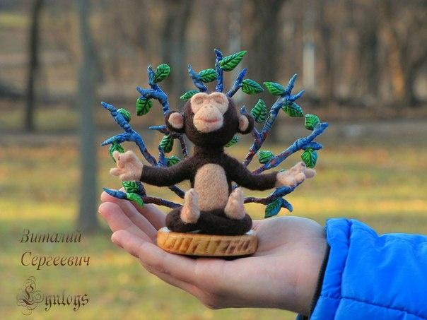 Носик, лапы, хвост и ушки - мастерит студент игрушки фото 1