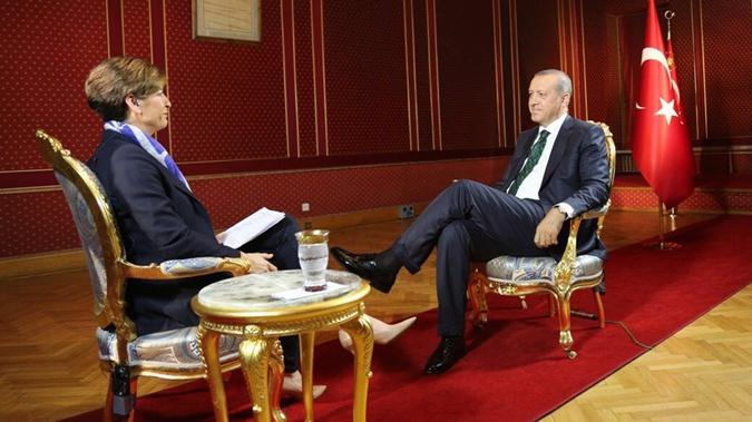 Эрдоган дал первое интервью после попытки переворота.