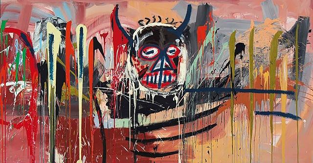 Christie's продал автопортрет Жана-Мишеля Баскии за рекордные 57,3 миллионов долларов.