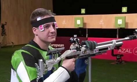 Олег Царьков занял восьмое место.